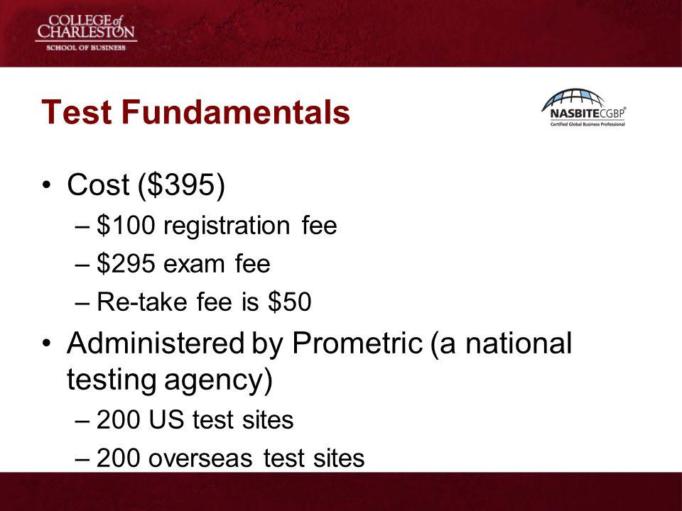 Test Fundamentals Cost ($395)