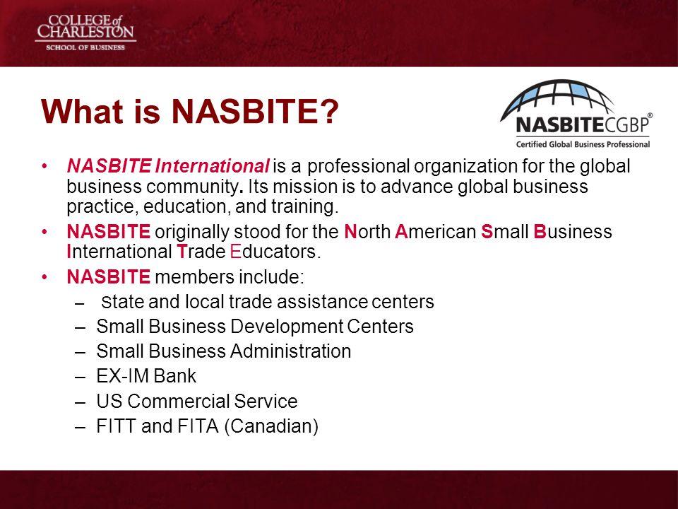 What is NASBITE