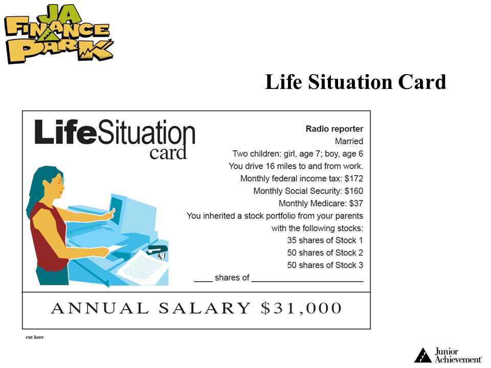 Life Situation Card