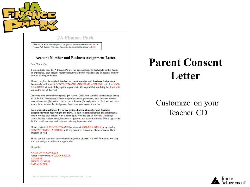 Customize on your Teacher CD