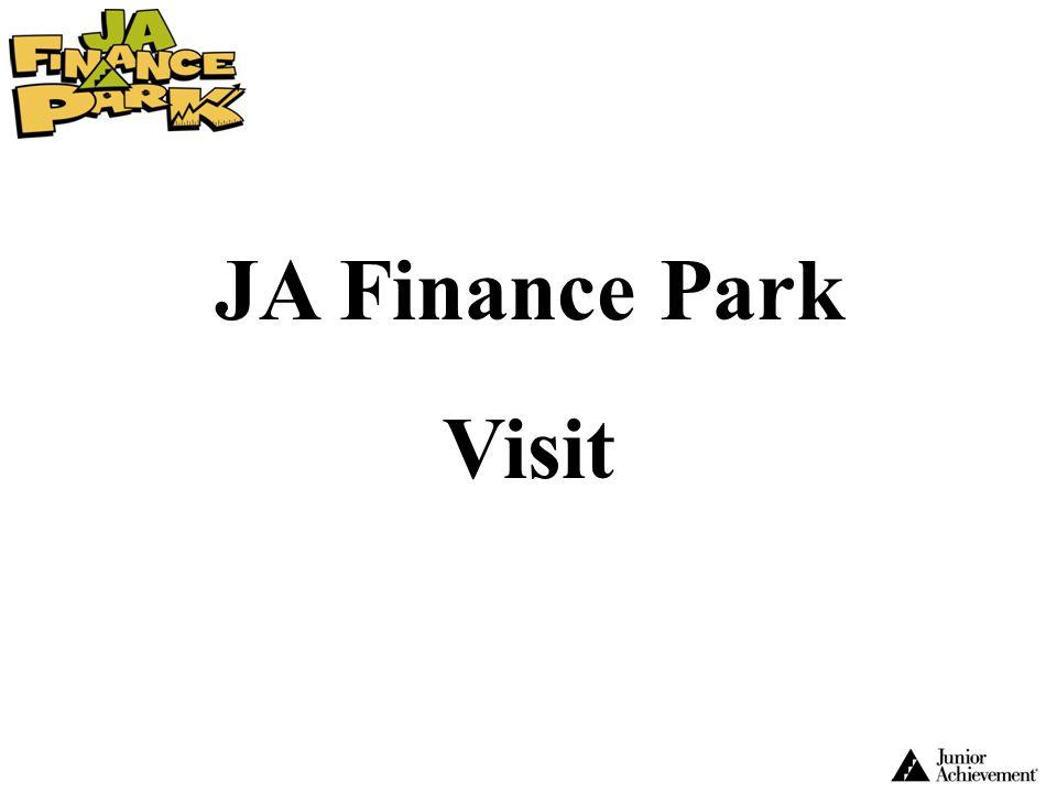 JA Finance Park Visit.