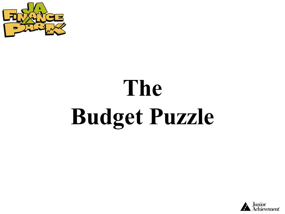 The Budget Puzzle