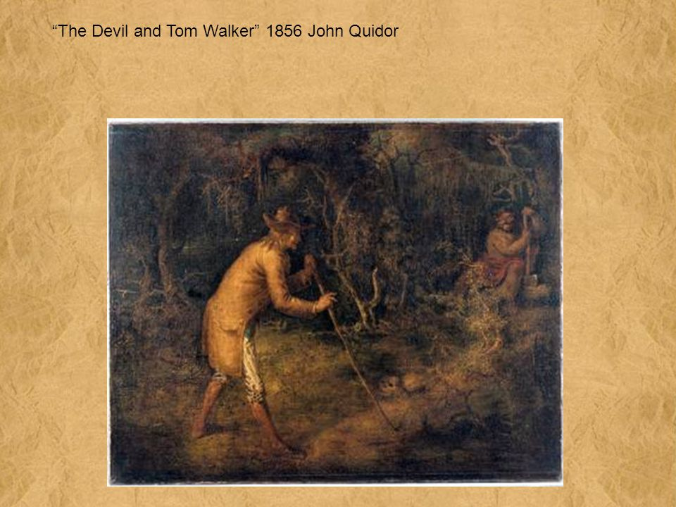 The Devil and Tom Walker 1856 John Quidor