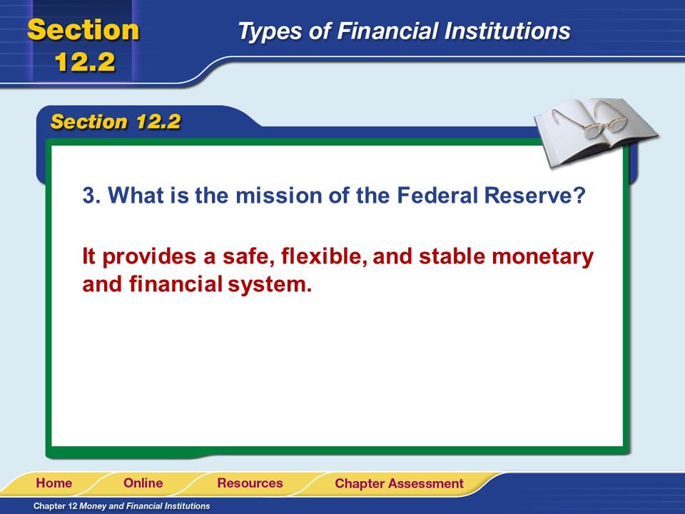 What is the mission of the Federal Reserve