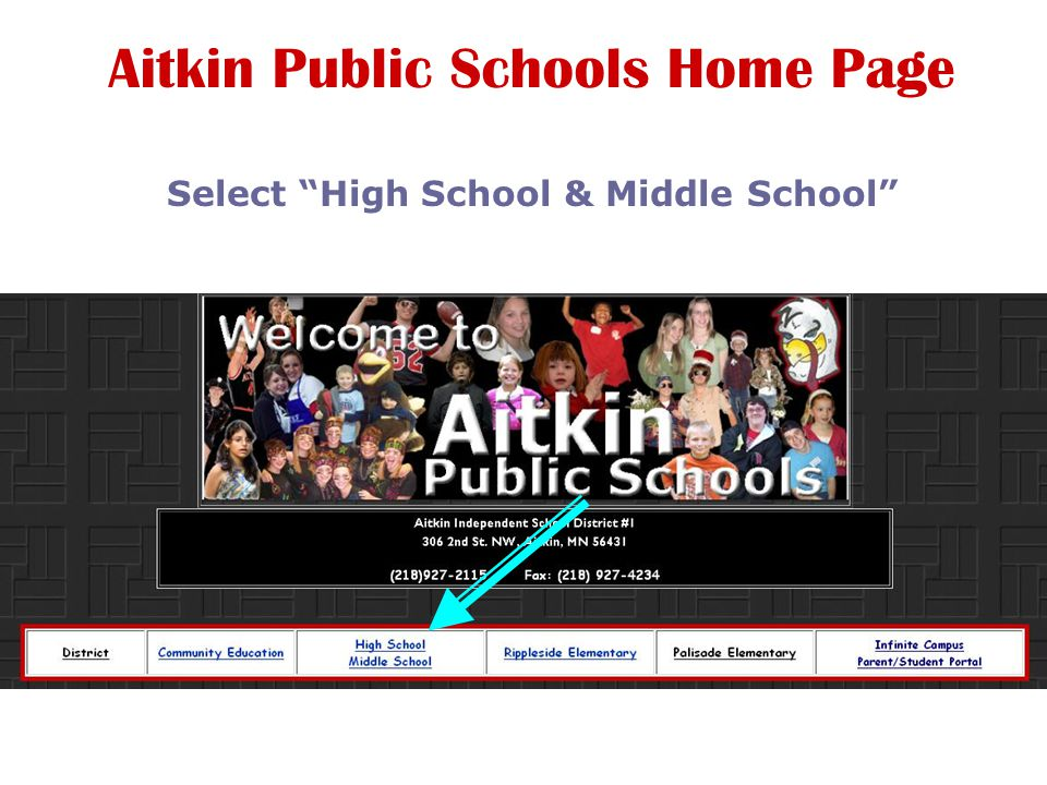 Aitkin Public Schools Home Page