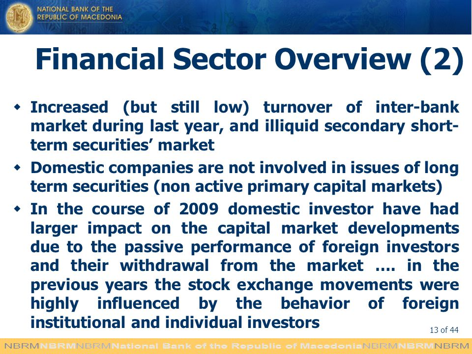 Financial Sector Overview (2)