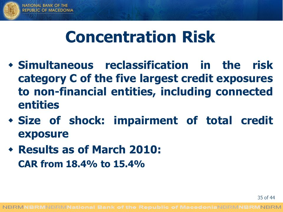 Concentration Risk