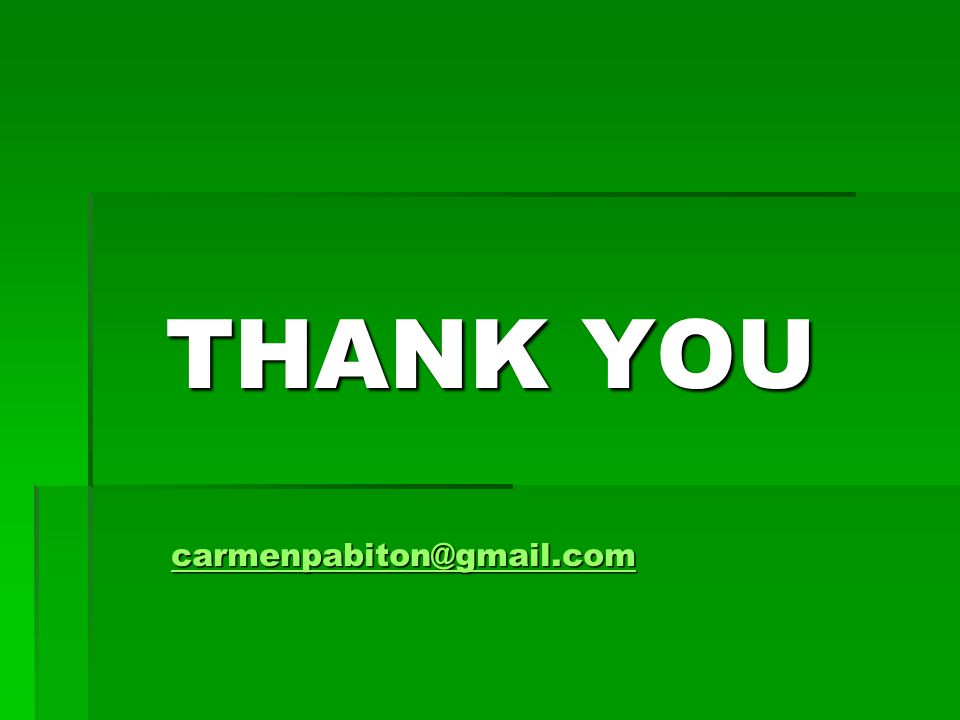 THANK YOU carmenpabiton@gmail.com