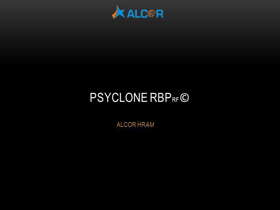 PsyClone RBPRF© ALCOR HRAM
