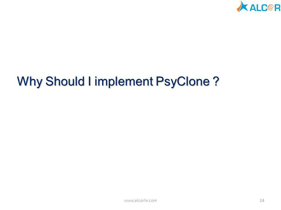 Why Should I implement PsyClone