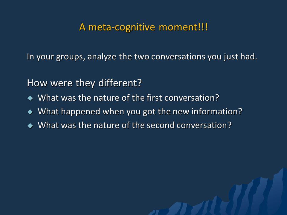 A meta-cognitive moment!!!
