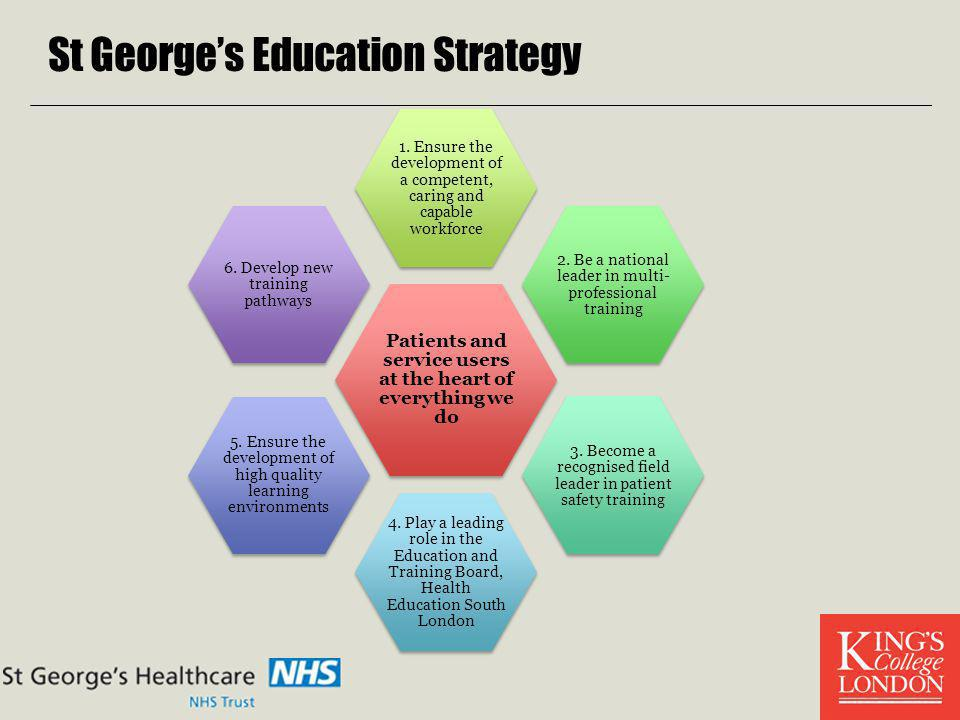 St George's Education Strategy
