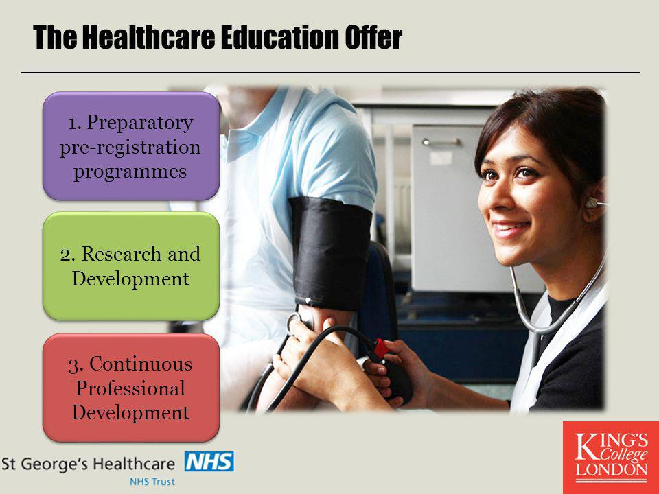 The Healthcare Education Offer