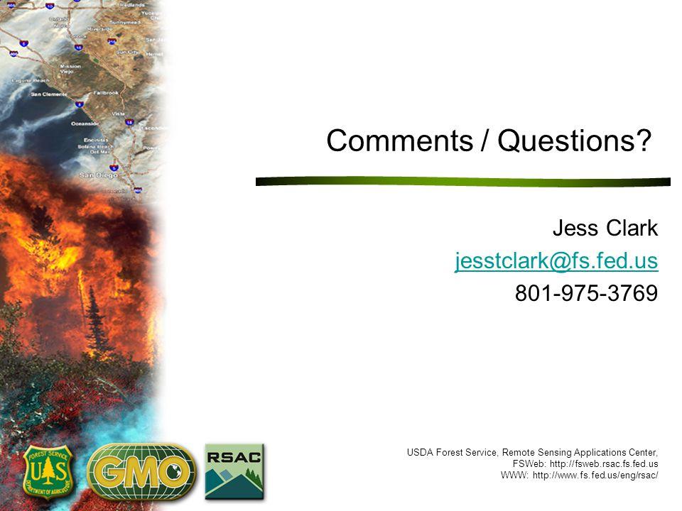 Jess Clark jesstclark@fs.fed.us 801-975-3769