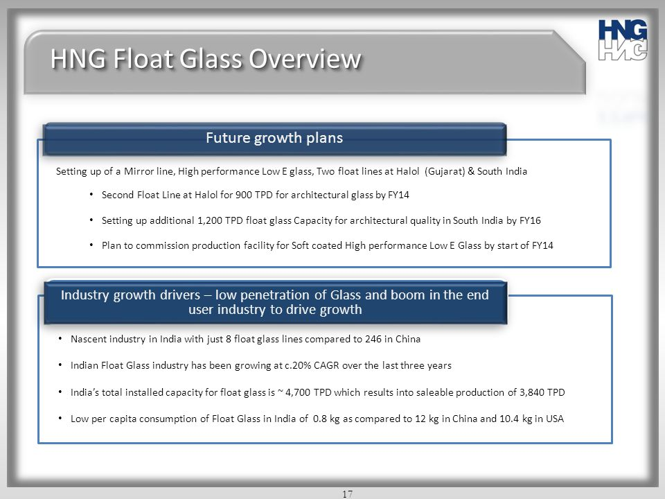 HNG Float Glass Overview