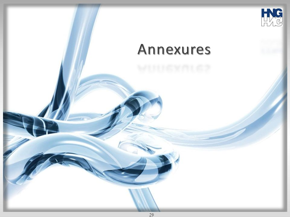 Annexures 29 29