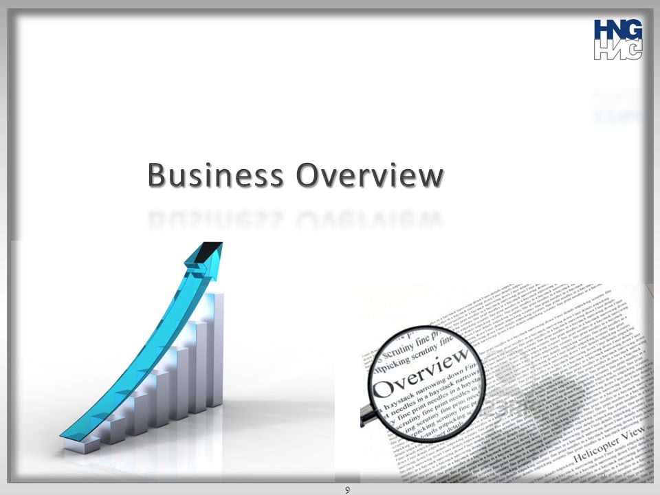 Business Overview 9 9