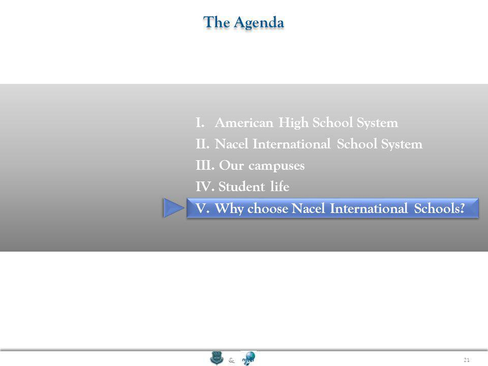 The Agenda American High School System