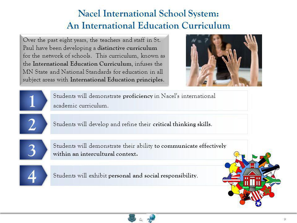 1 2 3 4 Nacel International School System: