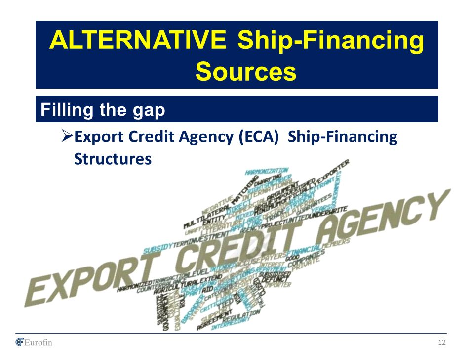 ALTERNATIVE Ship-Financing Sources