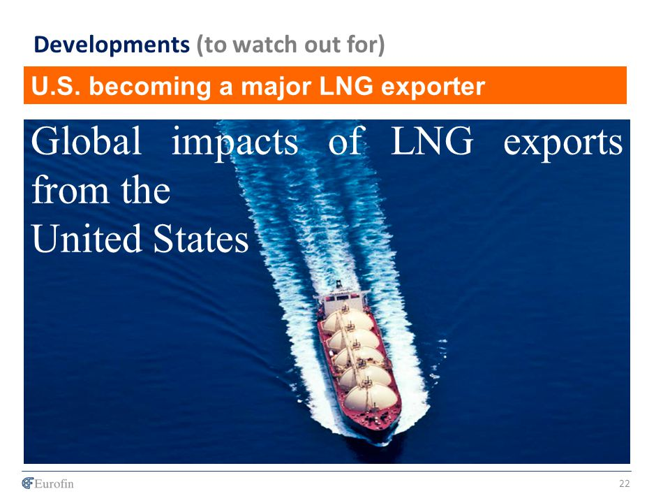 U.S. becoming a major LNG exporter