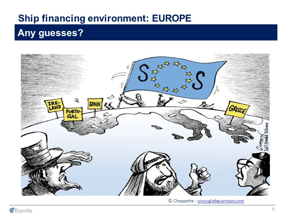 Failed US Banks Ship financing environment: EUROPE Any guesses 6