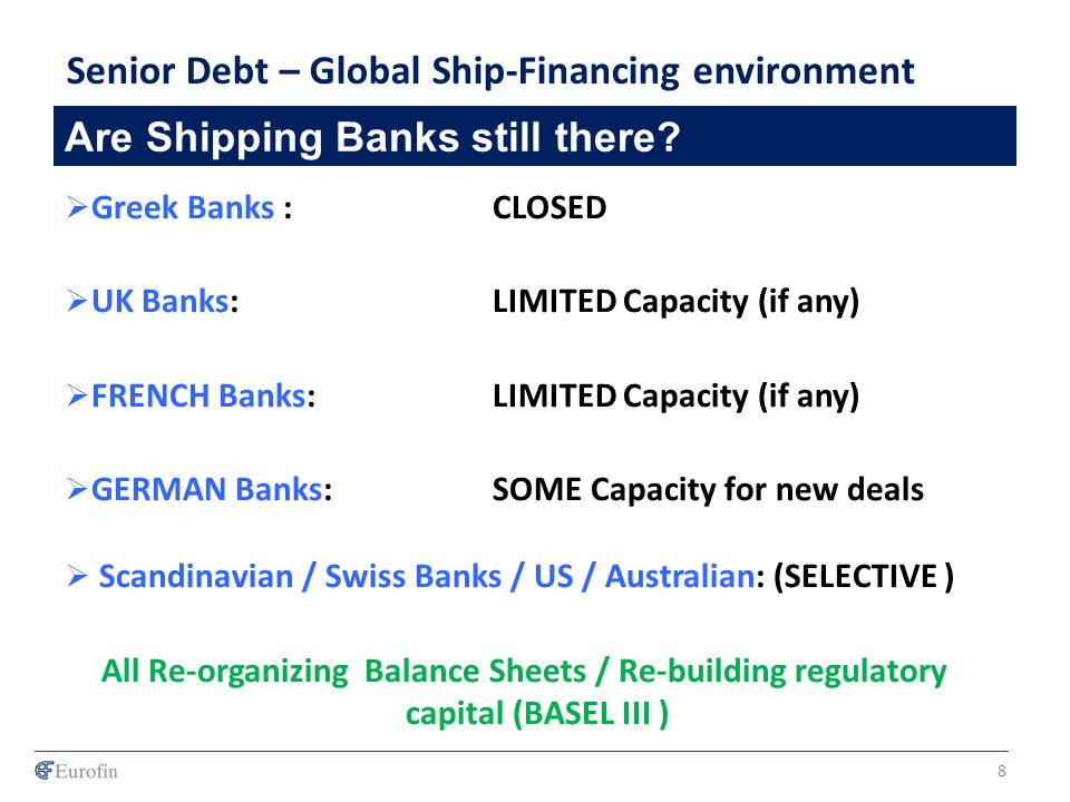 Are Shipping Banks still there