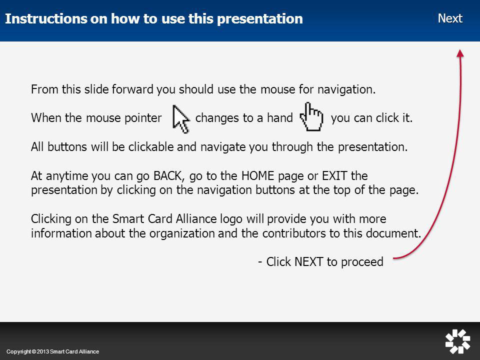 Instructions on how to use this presentation