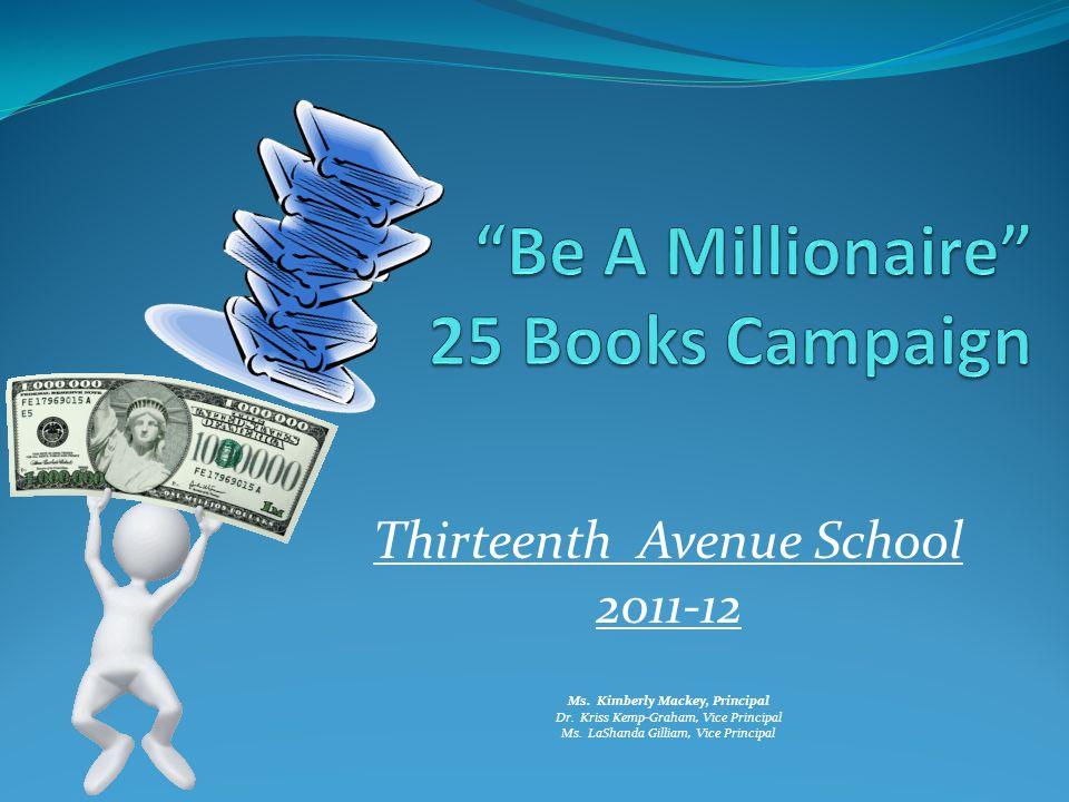 Be A Millionaire 25 Books Campaign