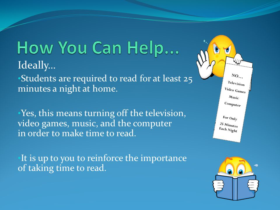 How You Can Help... Ideally…