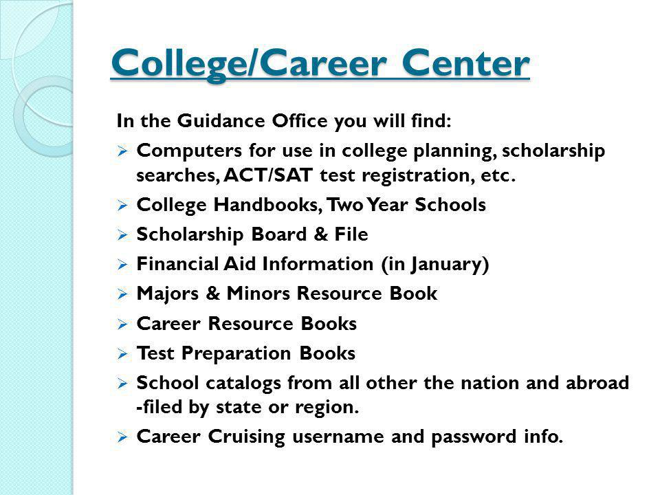 College/Career Center
