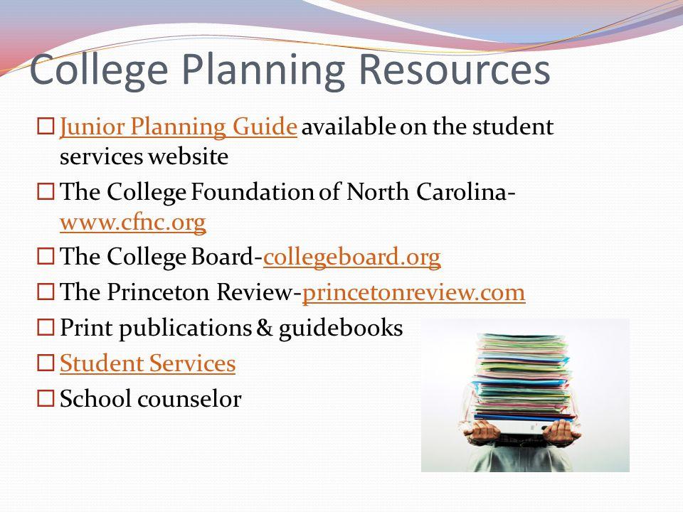 College Planning Resources
