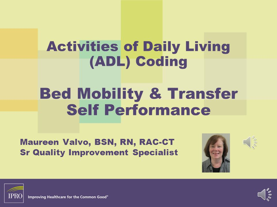 Maureen Valvo, BSN, RN, RAC-CT Sr Quality Improvement Specialist