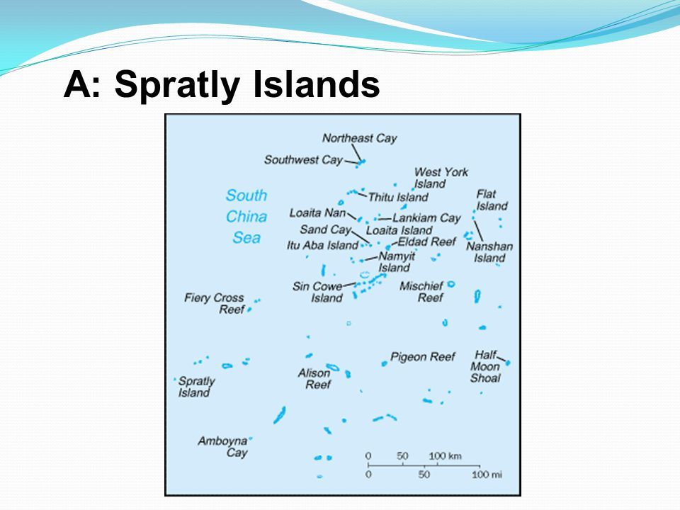 A: Spratly Islands