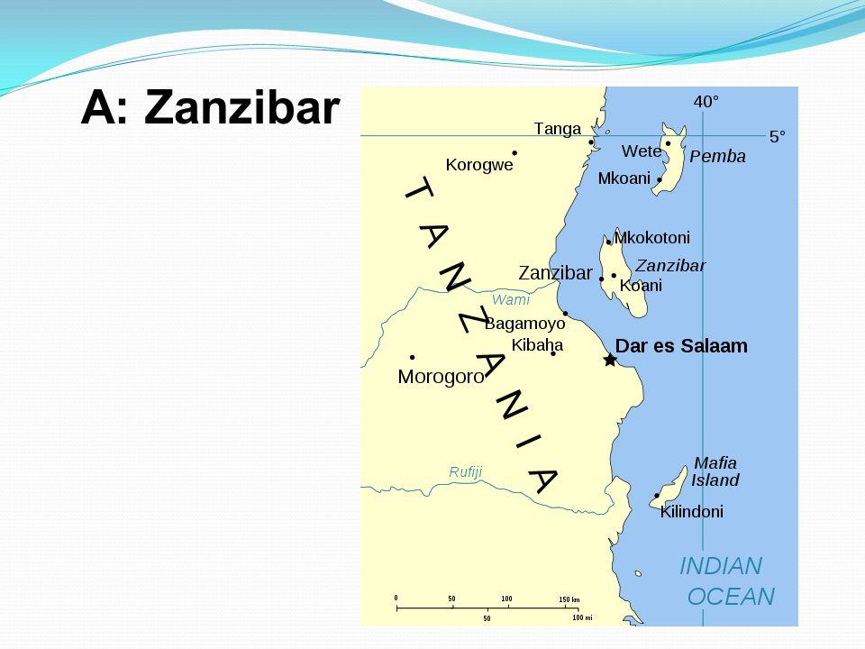 A: Zanzibar