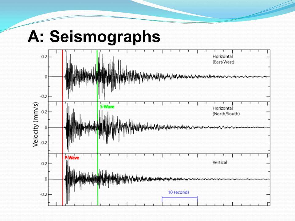 A: Seismographs