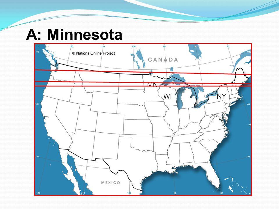 A: Minnesota MN WI NY