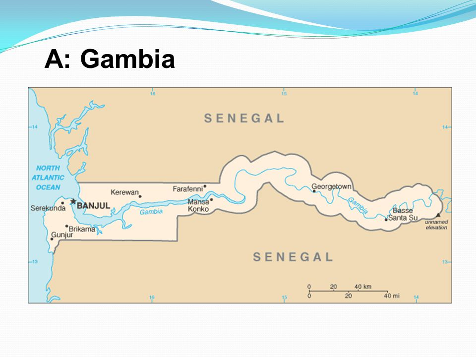 A: Gambia