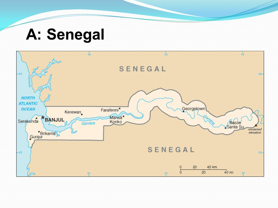 A: Senegal