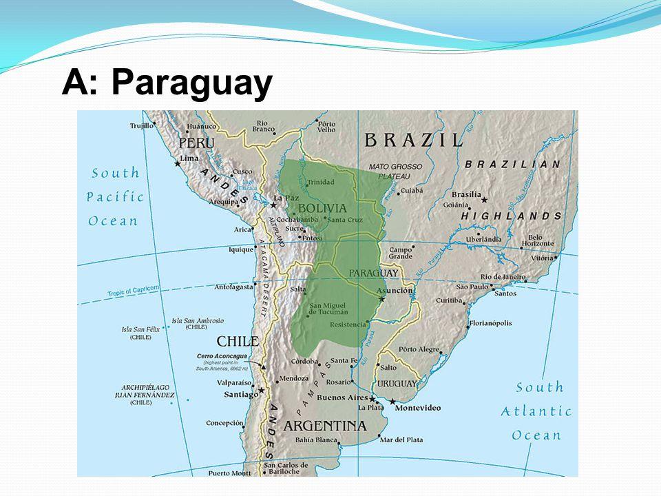 A: Paraguay