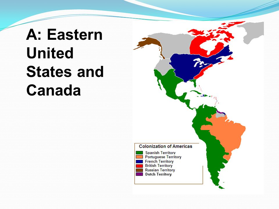 A: Eastern United States and Canada