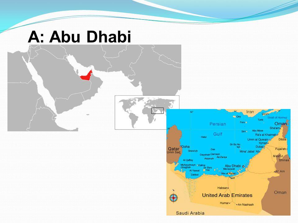 A: Abu Dhabi