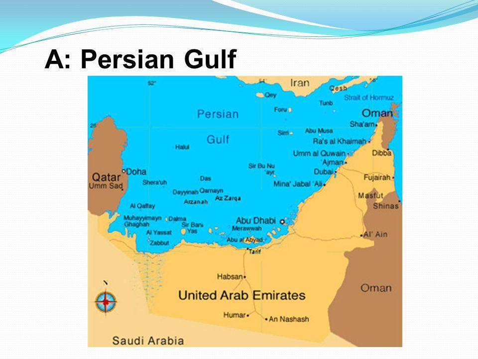 A: Persian Gulf