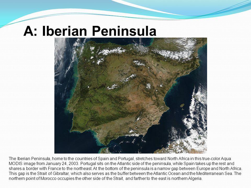 A: Iberian Peninsula