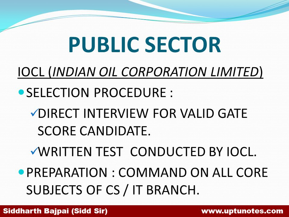 PUBLIC SECTOR IOCL (INDIAN OIL CORPORATION LIMITED)
