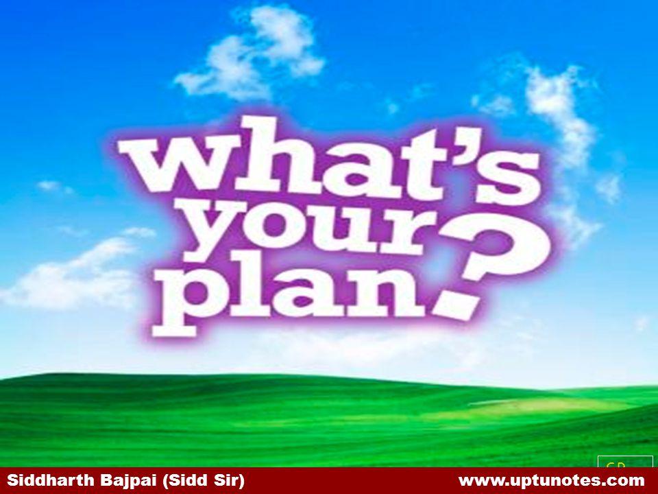 SB Siddharth Bajpai (Sidd Sir) www.uptunotes.com
