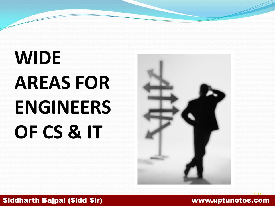 WIDE AREAS FOR ENGINEERS OF CS & IT
