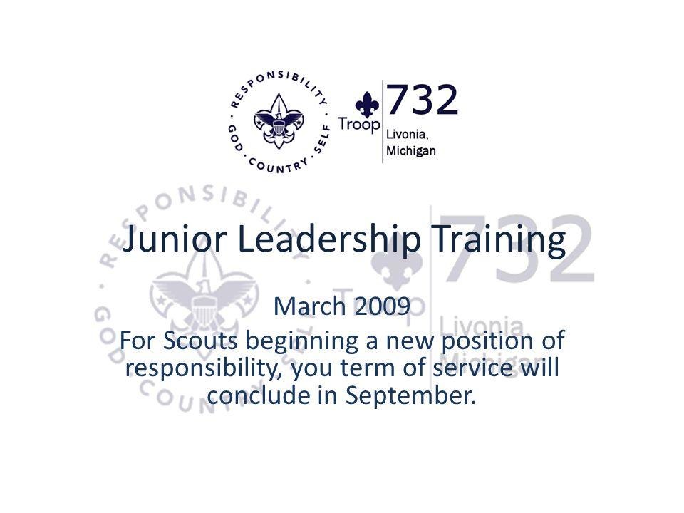 Junior Leadership Training