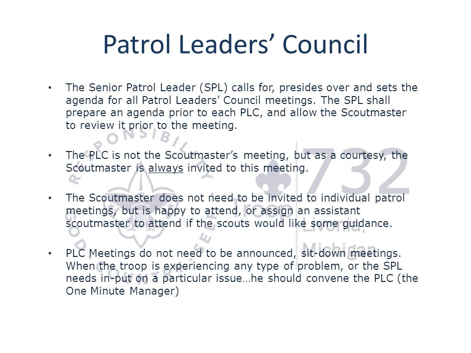 Patrol Leaders' Council