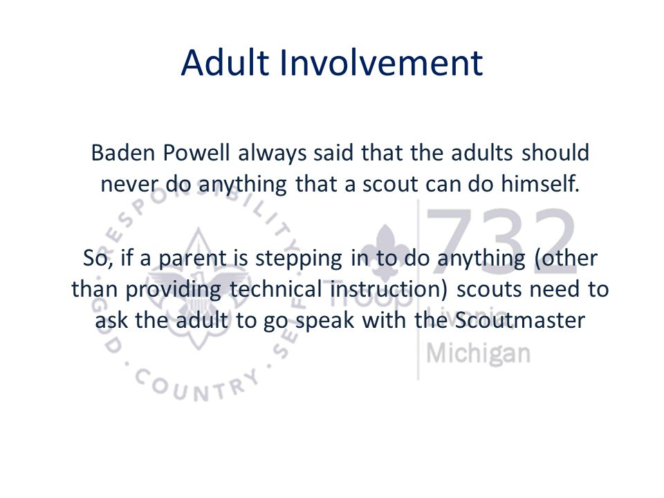 Adult Involvement